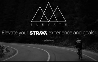 Elevate app for Strava Logo and Banner Image