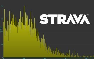 Strava power meter chart and logo